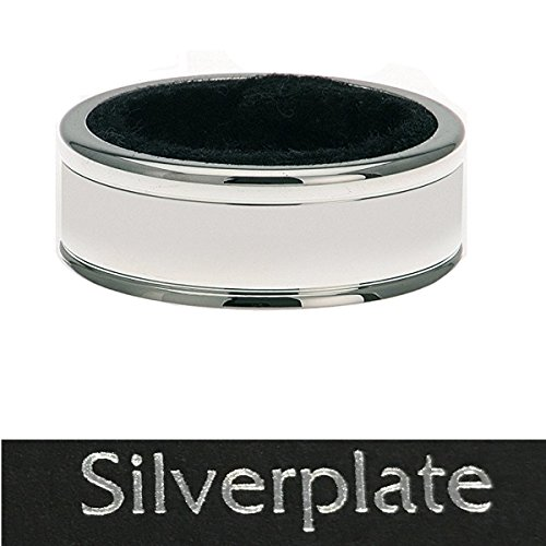 Tropfring Tropfenfänger D 4cm B 1,5cm Silber Plated versilbert für Flaschen 24/040