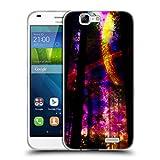 Head Case Designs Offizielle Haroulita Saturn-Blitz Raum Soft Gel Hülle für Huawei Ascend G7