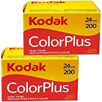 Kodak Color Plus Lot de 2 ; pellicules 35 mm 200/24 - Pellicule - rouleau - photographie