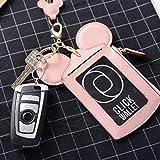 Kyerivs Niedlich Brustbeutel, Kreditkartenetui mit Münzfach, Kreditkartenhüllen, Kleingeldfach, Kleine Geldbörse für Mädchen und Damen (rosa)