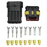 YONGYAO 10 x 4 Pin Modo Sigillato Cavo Elettrico Impermeabile Connettore Spina Set