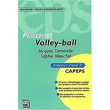Volley-ball : CAPEPS externe, épreuve d'admission orale, méthodologie et contenus