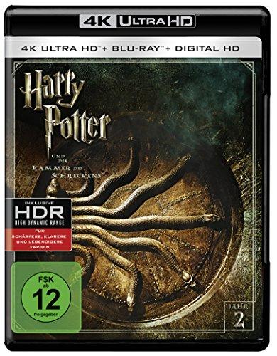 Harry Potter und die Kammer des Schreckens  (4K Ultra HD + 2D-Blu-ray) (2-Disc Version)