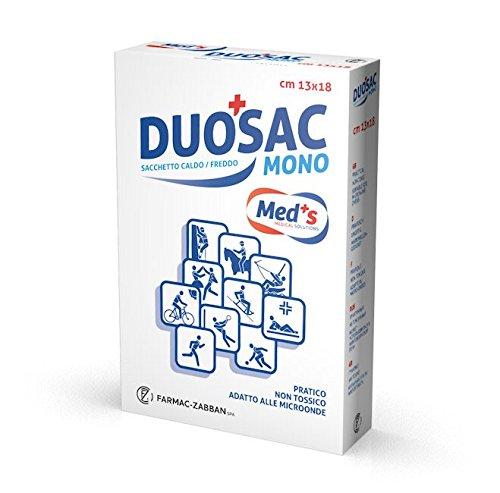 Farmac Zabban Duosac Duo 2 Sacchetti in Gel per Terapia Caldo/Freddo Riutilizzabile, Pack di 2