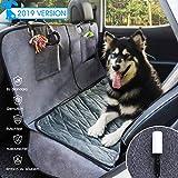GLAMFIELDS GLAMFIELDS Hundedecke für Auto rückbank Wasserdicht Waschbar autoschondecke Hund rücksitz, autodecke für Hunde rückbank, Kratzfest rutschfeste autoschutzdecke,mit seitenschutz und Samt (L Size)