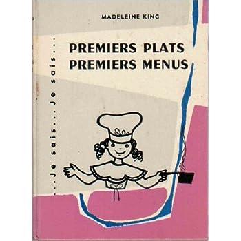 Premiers plats premiers menus