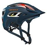 Scott Stego MTB Fahrrad Helm blau/orange 2018: Größe: M (55-59cm)