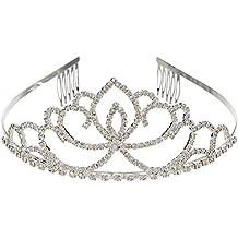 Fablcrew 1 St/ück Wundersch/öne Vintage Golden Bride Crown Hochzeit Zubeh/ör Hochzeit Schmuck Size 15.5 Gold 5.5CM