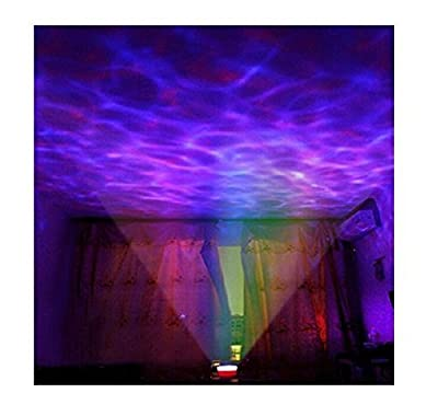 Lightahead® Ocean Master Romantic Relaxing Ocean Wave Light Multi Color Projector Lightahead® Ocean Master Romantic Relaxing Ocean Wave Light Multi Color Projector ,a built-in speaker that can be used with a audio cable A One Hour Auto Shutdown [Energy Cl