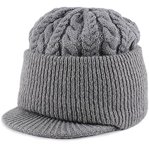 Dngy*Cappelli gli uomini più anziani anziani cappuccio Felpa invernale cap