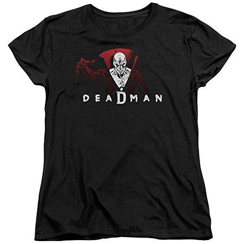 DC Comics Damen T-Shirt Schwarz