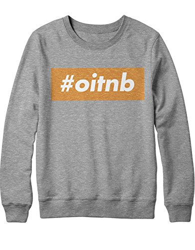 Sweatshirt Orange is The New Black Hashtag OITNB C210040 Grau - Oitnb Piper Kostüm