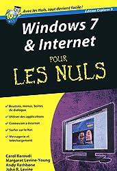 Windows 7 et Internet ed. Explorer 9 Poche Pour les nuls