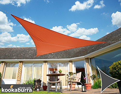 Tende a vela Kookaburra - Triangolare 3.6m Terracotta Tessuto Impermeabile