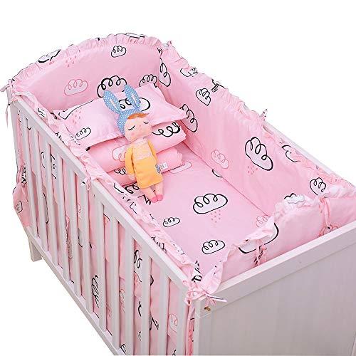 Parure de lit en coton, lit berceau, literie pour bébé, literie pour bébé, ensemble de 7/8 104 * 58, ensemble de sept pièces