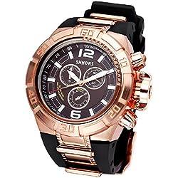 Mode Sport Silikon Armband Herren Uhr