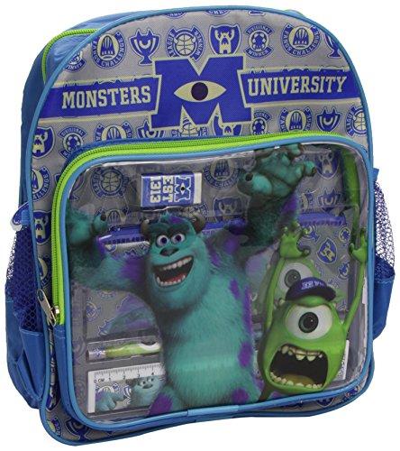 SAMBRO 6448-Art & Craft Kit-Monsters Inc Tasche Rucksack mit Stationery (Monsters Inc Rucksack)