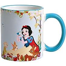Blancanieves y los siete enanos Copa Disney Sea siempre usted por Elbenwald azul de cerámica 320ml
