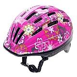 Meteor Casco Bici Ideale per Bambini e Adolescenti Caschi Perfetto per Downhill Enduro Ciclismo MTB Scooter Helmet Ideale per Tutte Le Forme di attività in Bicicletta Helmo HB6-2 (S(48-52), Rosa)