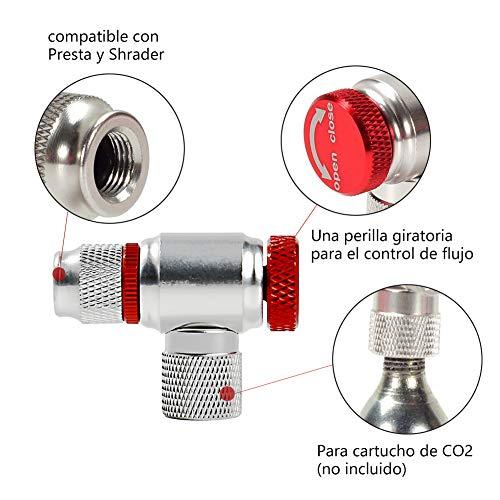 VICMA Cartucho inflado CO2 25gr