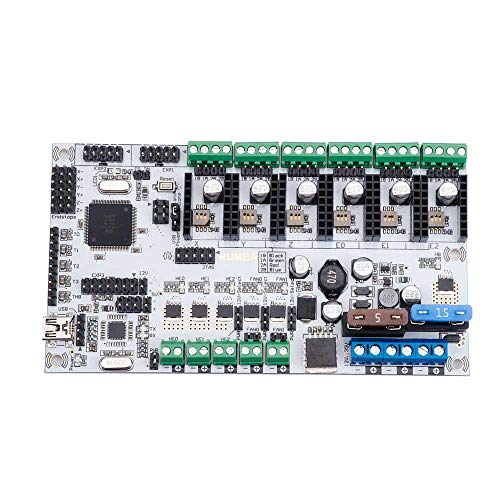 TOOGOO Rumba Plus Motherboard 2560 R3 Prozessor Upgrade Rumba + Für 3D Drucker Zubeh?r Rumba Optimierte Versions Kontroll Platine