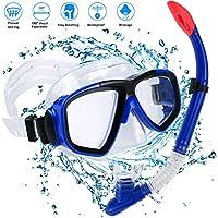 Schnorchel Set Erwachsene Schnorchelset Tauchset Taucherbrille mit Schnorchel für Herren und Damen Tauchen Schnorcheln