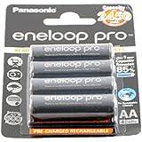 Profi double x batteries sanyo eneloop aA r6 2500mAh blis lot de 4