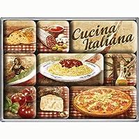 Nostalgic Art Cucina Italiana Magnet Set