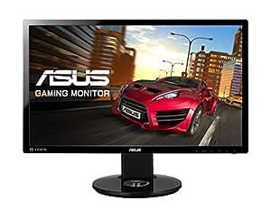 ASUS VG248QE 24 inch Widescreen LED Multimedia 3D Monitor (1920 x 1080, 80000000:1, 144 Hz, 1 ms, DVI Display Port, HDMI) - Black