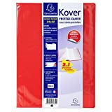 Exacompta - Réf. 032634W - Protège-cahier opaque Kover - 24x32cm - rouge