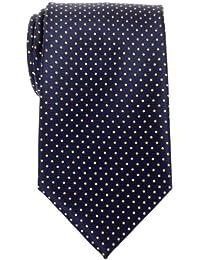 Retreez Modern Mini Polka Dots Woven Microfiber Men's Tie - Various Colors