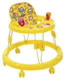 Mothertouch Chikoo Round Walker (Yellow)