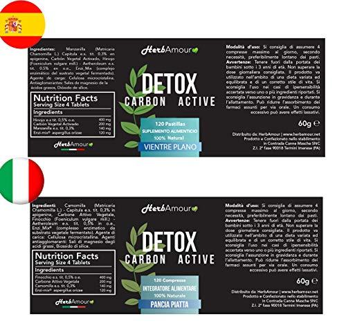 Carbon activado ayuda a bajar de peso