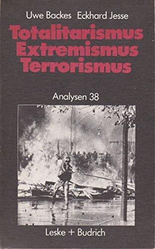 Totalitarismus, Extremismus, Terrorismus