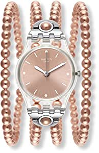 Watch Swatch Lady LK354 PINK PROHIBITION