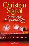 Se souvenir des jours de fête - Albin Michel - 30/03/2016