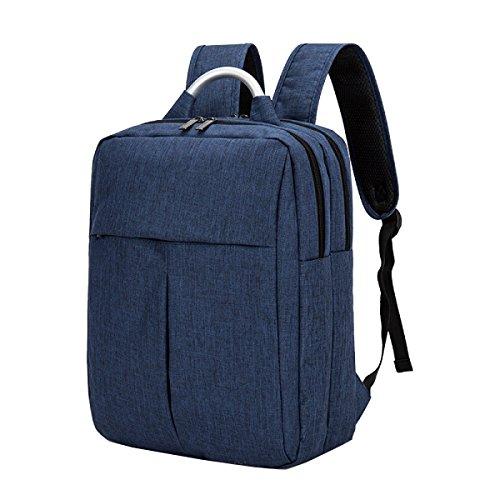 Xin.S Oxford Panno Zaino Uomo Affari Borsa A Tracolla Borsa Da Viaggio All'aperto Borsa Scuola. Multicolore Blue