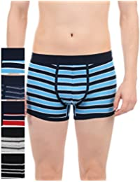US Polo Association Men's Cotton Trunks (Pack of 1) (Colors May Vary)