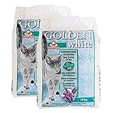 Golden White Katzenstreu mit Lavendelduft 2x14kg