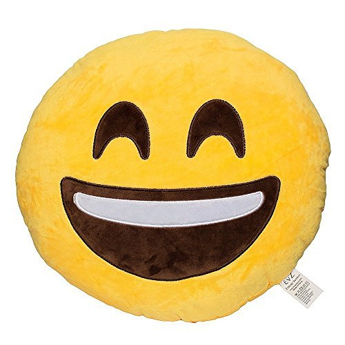 43 off on grabadeal soft smiley emoticon yellow round cushion