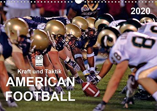 Kraft und Taktik - American Football (Wandkalender 2020 DIN A3 quer)