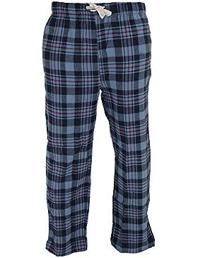 Cargo Bay - Pantalones de pijama a cuadros de algodón para hombre