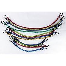 FLAMEER 3mm Elastisches Bungee Seil Schockkordel Binden Boote Anh/änger Verschiedene L/änge//Farbe
