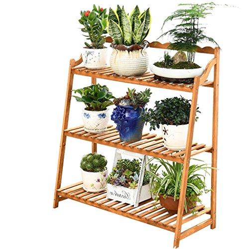 Lsjt fioriera in legno multistrato per piante e fioriera per interni ed esterni espositori per balconi decorazione giardino in vaso rack 4kg (8.82lbs)