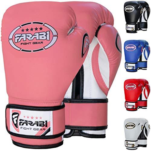Farabi 8oz Junior Boxing Gloves Kids Boxing Gloves