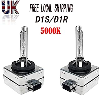 Autofather Piar 35W D1S D1R HID Xenon Headlight Bulbs Lights Lamps 66140 66144-5000K Sunshine