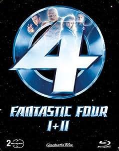 Fantastic Four 1 + 2 (Steelbook)  [Blu-ray] [Limited Edition]