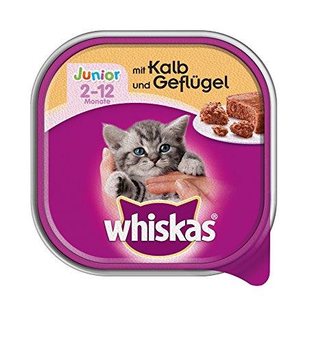 whiskas-junior-katzenfutter-kalb-und-geflugel-32-schalen-32-x-100-g