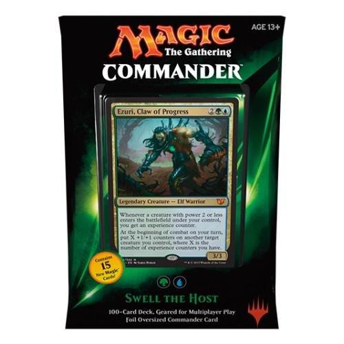 Preisvergleich Produktbild Magic - MTG Commander Deck 2015 – Swell the host (grün) ENGLISCH