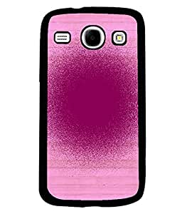 PRINTVISA Spray Premium Metallic Insert Back Case Cover for Samsung Galaxy Core - I8260 / I8260 - D6091